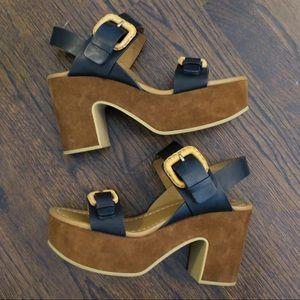 See by Chloe platform heel sandal